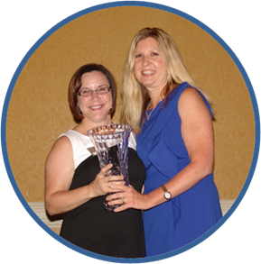 SGMP Florida Capital Chapter Amy and Janet Meeting Planner Government Supplier Award