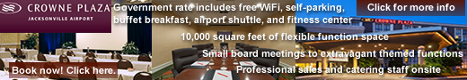 Book now at Crowne Plaza Jacksonville Airport. Click to book!